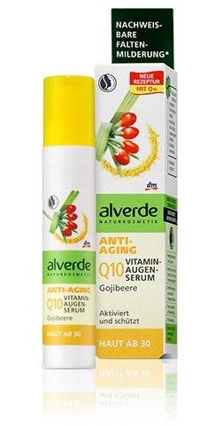 Alverde Gojiberry Anti-Ageing Vitamin Eye-Contour Serum Against Wrinkles & Lines - 10 ml dm-drogerie-markt