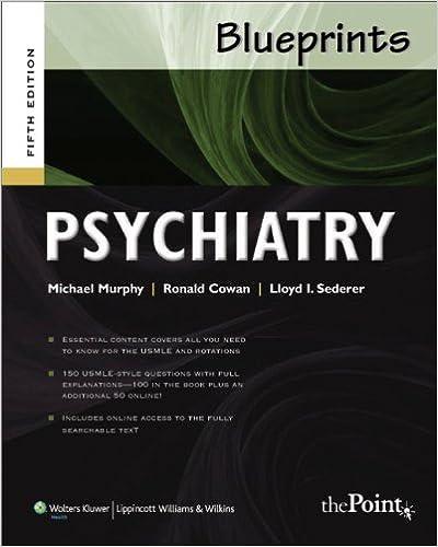 Blueprints psychiatry blueprints series 9780781782531 medicine blueprints psychiatry blueprints series fifth edition malvernweather Choice Image