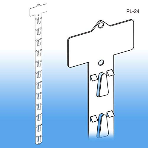 "Posi-Lok 24 1/2"" L Clip Strip Merchandiser by ClipStrip 