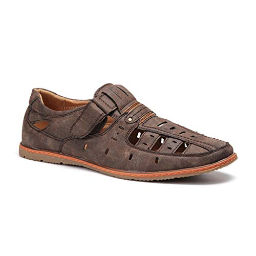 Uomo Classico Stile Outdoor Uomo Verde Sandali Estive Moda Scarpe qOfqXtwH