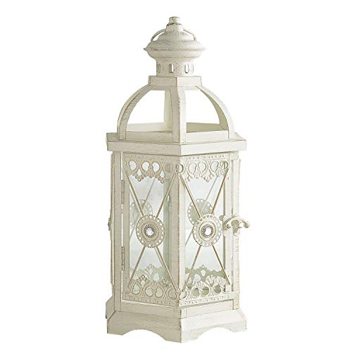 Pier 1 Imports White Small Indoor Candle Lantern