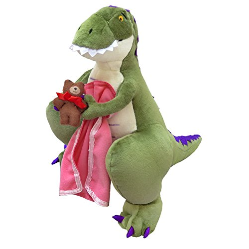 MerryMakers How Do Dinosaurs Say Good Night? Plush Doll, 14-Inch