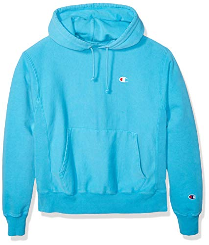 Champion LIFE Men's Reverse Weave Pullover Hoodie, Tidal Wave, Medium (Champion Life Mens Reverse Weave Pullover Hoodie)