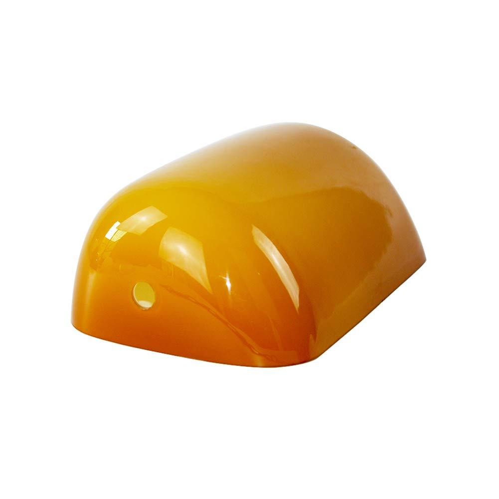 newrays Ersatz Bernstein Glas Bankers Lampe Cover fü r Schreibtisch Lampe Amber604