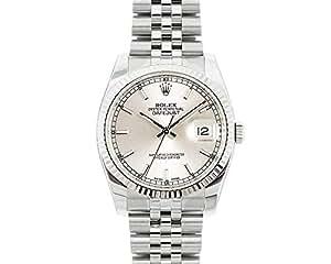 Rolex Datejust swiss-automatic Mens Reloj 116234 (Certificado) de segunda mano: Rolex: Amazon.es: Relojes