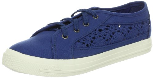 Wanted Shoes Womens Columbus Fashion Sneaker Navy