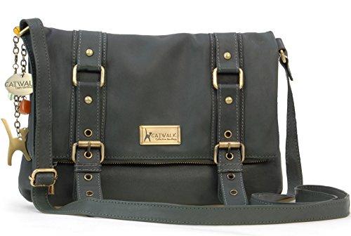 Foncé Catwalk Handbags Vert Abbey Collection Abbey Femme xYTwY8q1P