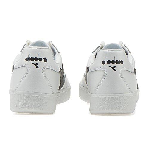 Unisex Scarpe Bianco Low Adulto C1880 bianco Elite nero B Diadora Top qA7ZA