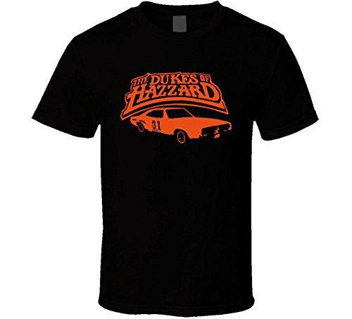 Dukes Classic T-shirt - Dukes of Hazzard Classic T Shirt 2XL Black