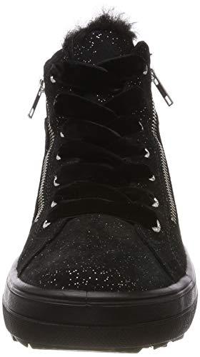 Baskets Femme Hautes Noir Legero 00 Mira Rw75nA
