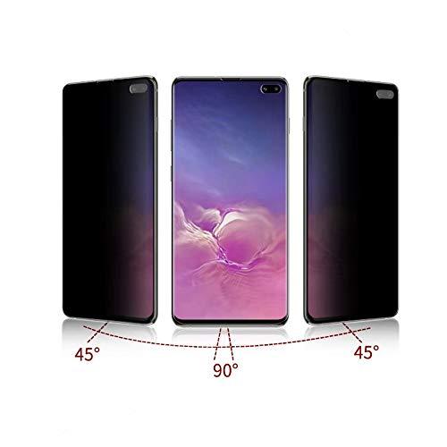 クラッシュ貢献する運命的なLWling Galaxy S10 覗き見防止 フィルム ギャラクシーS10+ 専用 ガラスフィルム 非ガラス 3D Touch対応 ディスプレイ指紋ID対応 高強度TPU素材を使用したTPUフィルム 3D全面保護 耐指紋 汚れ対策 全面保護フィルム 衝撃防止 凹み傷防止 指紋防止 ソフトフィルム ケースの干渉防止 覗き見防止 (Galaxy S10 Plus)