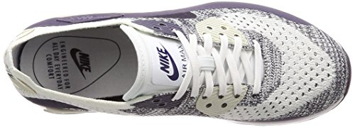 Mesh 0 Donna 90 White 2 Max Air Bianco Sneakers Flyknit Ultra Nike raisin TBU8nT
