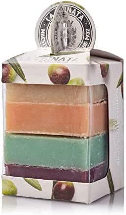 Pack de 4 jabones artesanos para recuerdo: Amazon.es: Alimentación y bebidas