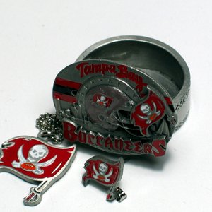 NFL Tampa Bay Buccaneers 4 in 1 Trinket Box