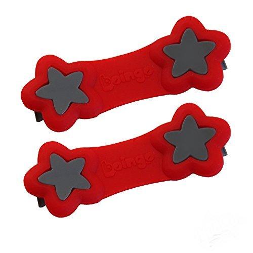 Boingo Baby Cloth Diaper Fastener (Athlete Red) by Boingo Baby