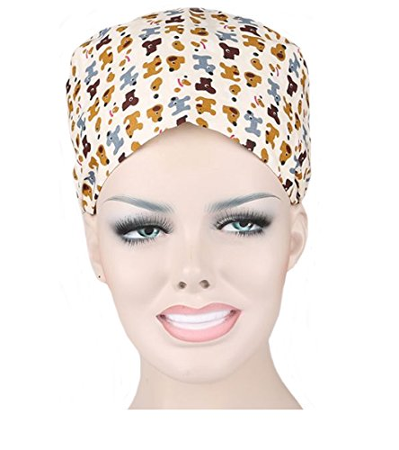 Womens Surgical Scrub Hat - Nothar Women's and Men's Scrub Cap Scrub Hat One Size Multiple Color