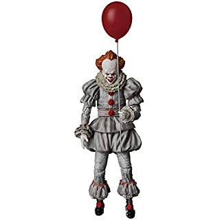 Medicom It: Pennywise Mafex Action Figure, Multicolor