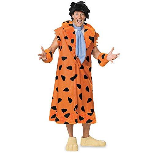 Warner Bros. Men's Fred Flintstone Plus Size Costume Plus -