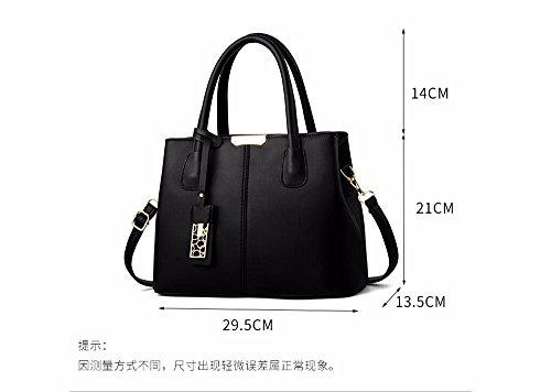 Mujer Bag Bolso Bandolera para A CCZUIML Khaki Crossbody marrón de Moda qwA57x6d8