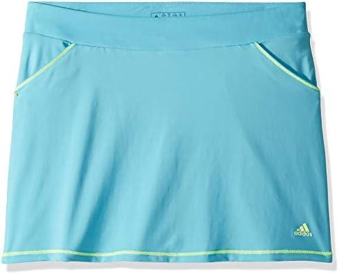 adidas - Falda de Golf para niña, niña, Color Bright Cyan, tamaño ...