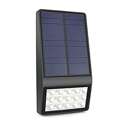 Solar Lights Motion Sensor Solar Wall Light Outdoor IP65 Waterproof Motion Activated Solar Fence Light