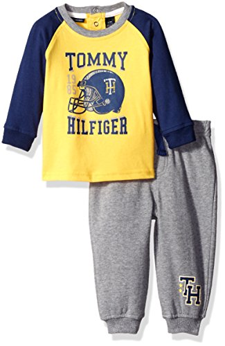 tommy-hilfiger-baby-boys-jersey-top-with-fleece-pants-set-yellow-18-months