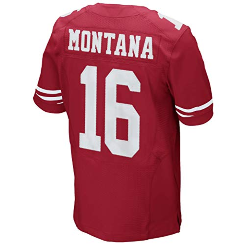 Joe_Montana_Scarlet #16 Fans Jersey Sportswears Football Game Jerseys