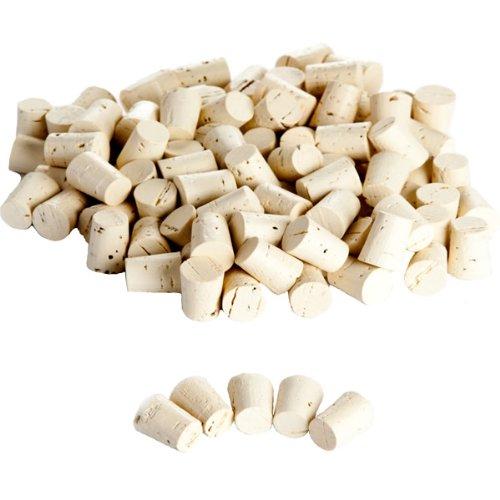 100 Spitzkorken 22x18/15 Korken Medizinkorken Vitrulab
