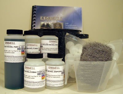 Caswell Electroless Nickel Plating Kit