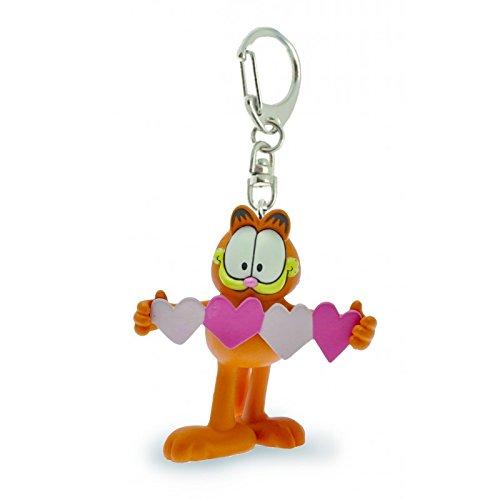 Garfield: Garfield Mit Herz Schlüsselanhänger -