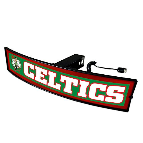 CC Sports Decor NBA - Boston Celtics Light Up Hitch Cover - 21''x9.5'' by CC Sports Decor