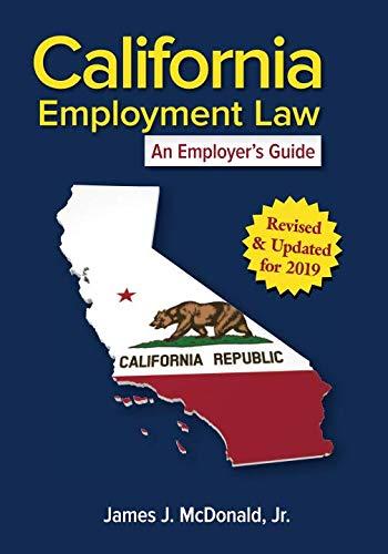 California Employment Law: An Employer