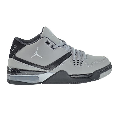 Jordan Flight 23 BG Big Kids Shoes Wolf Grey/Pure Platinum-Black-Clay Grey 317821-012 (4.5 M US)