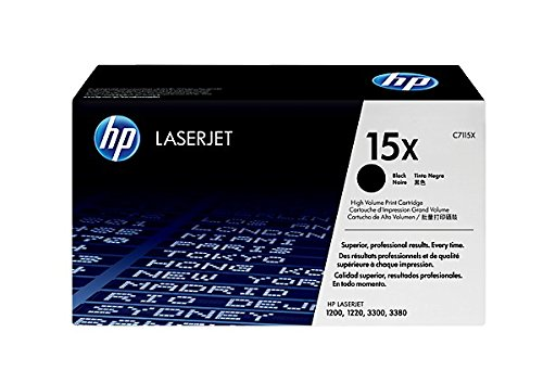 Hp Ultraprecise Print Cartridge (Remanufactured Replacement Laser Toner Cartridge for Hewlett Packard C7115X (HP 15X) High-Yield Black)