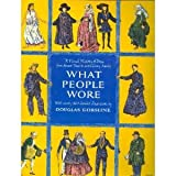 img - for What People Wore book / textbook / text book