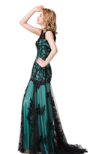 Babyonlinedress Damen Kleid Gr. 44, mint