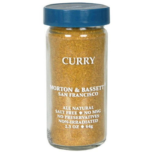 Morton & Bassett Curry Powder, 2.3-Ounce Jars (Pack of 3) (Bassett Curry)