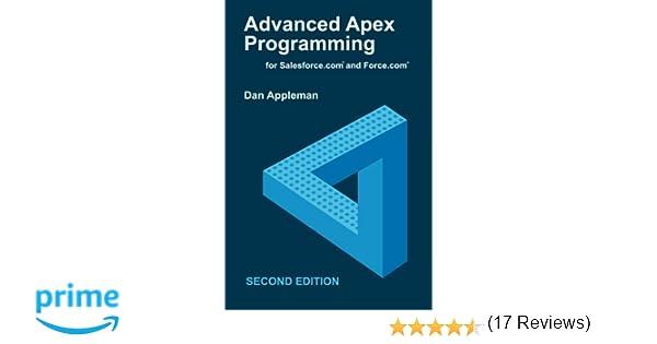 Advanced Apex Programming For Salesforce.com And Force.com Pdf