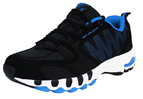iLoveSIA Delocrd Zapatillas de running multiuso - Black+Blue