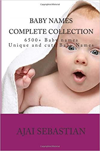 Book Baby Names - Complete collection