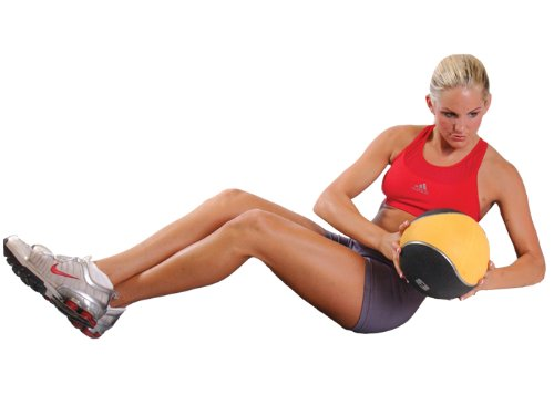 Cap Rubber Medicine Ball Set with Rack by CAP Barbell (Image #3)