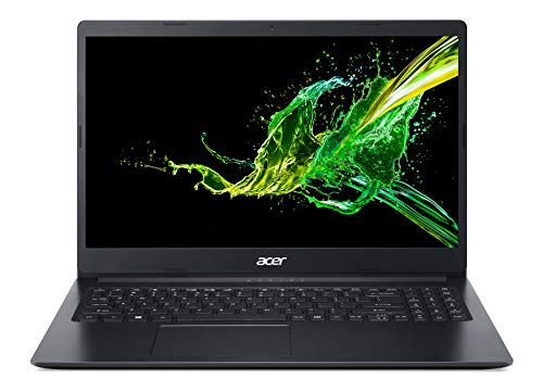 Acer Aspire 1 A115-31-C2Y3, 15.6″ Full HD Display, Intel Celeron N4020, 4GB DDR4, 64GB eMMC, 802.11ac Wi-Fi 5, Up to 10-Hours of Battery Life, Microsoft 365 Personal, Windows 10 in S mode, Black