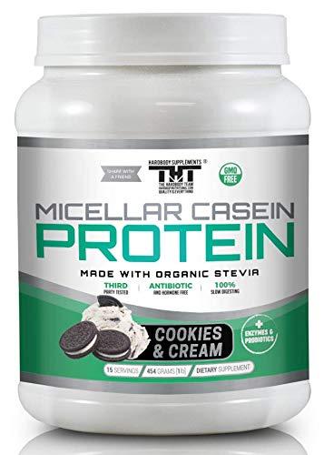 Amazon.com: Increíble polvo de proteína de caseína micelar ...