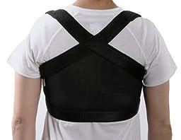 ShouldersBack Posture Strap - Shoulder Positioner - Large, White