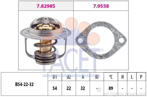 Facet 7.8429 Thermostat coolant