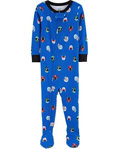 (Carter's Baby Boys' 1-Piece Snug Fit Cotton Pajamas (3T,)