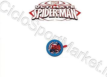Timbre Niño Niño Spiderman Dibujos Animados Bicicleta/Fijación ...