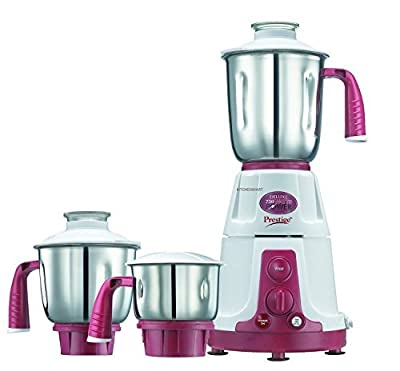 Prestige Deluxe VS 110volts, 750 Watts-Mixer Grinder, (with three stainless still jar)