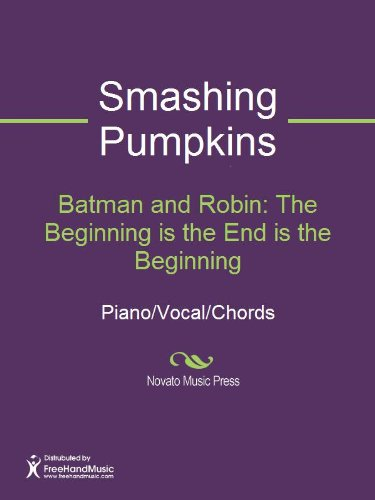 Batman And Robin The Beginning Is The End Is The Beginning Kindle