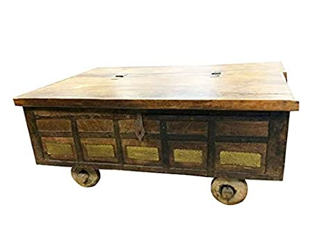Amazoncom Country Style Coffee Table Antique Chest On